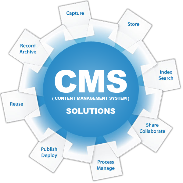 content management system By their nature, content management systems support the separation of content and presentation a web content management system (wcm or wcms) is a cms designed to support the management of the content of web pages.