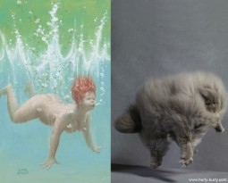 Cats That Look Like Pin Up Girls