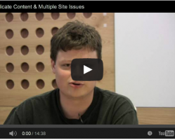 Duplicate Content & Multiple Site Issues