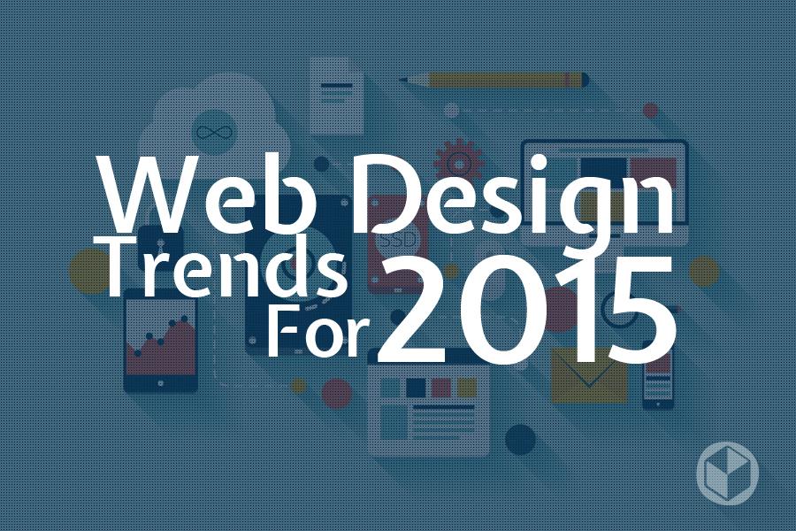 Top 5 Trends in Web Design in 2015