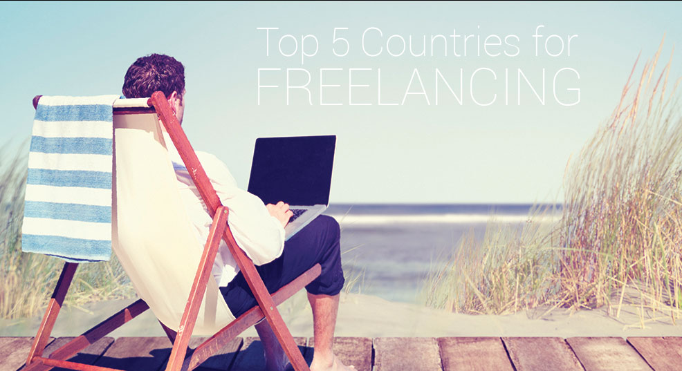 Top 5 Countries for Freelancing