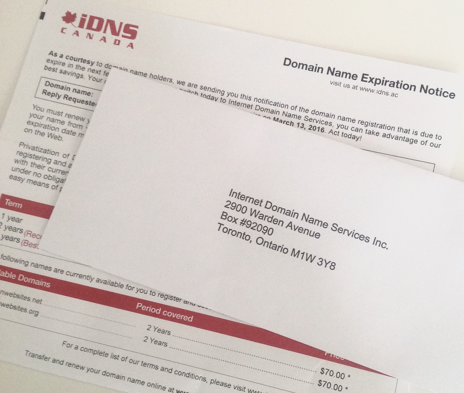 Canadian business owners beware of shady marketing tactics from iDNS Canada